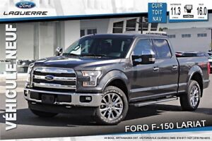 2017 Ford F-150 LARIAT*SEULEMENT 161$/SEMAINE*