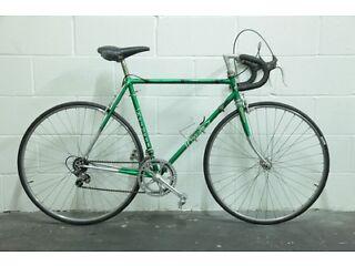"Vintage 1970s Men's French HELYETT Racing Road Bike - 22"" Reynolds 531 Frame - 10 Sp - (Peugeot)"
