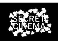2x secret cinema tickets