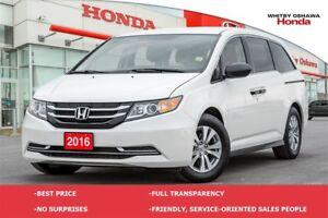2016 Honda Odyssey SE   Automatic