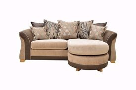 Chaise sofa suite, BRAND NEW, £575.