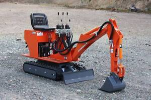 AUSTRALIAN MADE PETROL MINI EXCAVATOR Queanbeyan Queanbeyan Area Preview