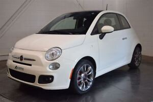 2014 Fiat 500 SPORT CUIR TOIT PANO MAGS