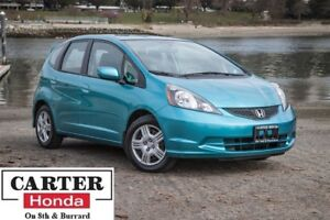 2013 Honda Fit LX, low kms, no accidents, handsfree calling