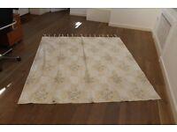 1 pair Designers Guild fabric Curtains