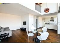 Contemporary penthouse in Stepney E1 with a roof terrace, two baths & concierge LT REF: 4557745