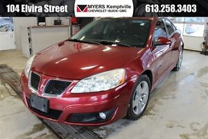2010 Pontiac G6 SE with GT package!