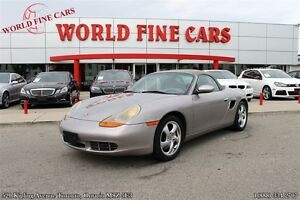2002 Porsche Boxster S | Convertible Certified + E-Tested