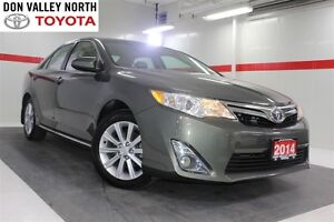 2014 Toyota Camry XLE Heated Lthr Nav Sunroof Btooth BU Camera C