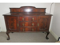Antique Ledgeback Sideboard