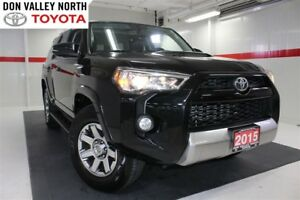 2015 Toyota 4Runner TRAIL EDITION 4WD V6 Sunroof Nav Heated Lthe