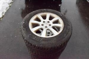 Subaru Forester 215/65/16 Goodyear Snows On Factory Alloys 85% Tread