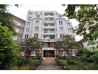 2 bed flat with fully fitted kitchen with integrated appliances, two bathrooms and communal gardens.
