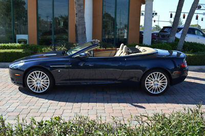2009 Aston Martin DB9 NEW ARRIVAL! V12 Powered! Just 8566 miles!! CONVERTIBLE! NEW ARRIVAL! V12 Powered! Just 8566 miles!! CONVERTIBLE! Low Miles 2 dr Automati
