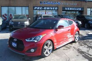 2014 Hyundai Veloster Turbo, CLEAN CAR PROOF, NAVIGATION, PANORA