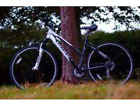 "Carrera Crossfire 1 Hybrid Bike, 18"" Frame size, 21 speeds, pristine condition"