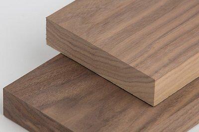 """Thick American Black Walnut - Black Walnut Lumber 3/4""""thick x 2.5 wide""""x12"""