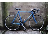RALEIGH R100, 22.5 inch, 57 cm, vintage racer racing road bike, 14 speed