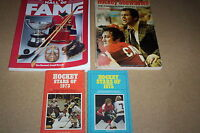 1988 Hockey Hall of fame book,  1972 Canada vs Russia series