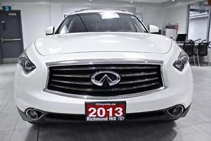 2013 Infiniti FX37 Limited Edition, NAV, ROOF, BSMS, LDW, ONE OW