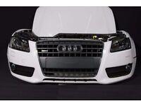 Car parts Bonnet Grill Bixenon headlight Radiator PDC Bumper Fender Audi A5 8T3 2009 - 2016 TFSi RHD
