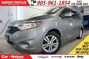 2012 Nissan Quest SL| LEATHER| DVD| PWR DOORS/TAILGATE| REAR CAM