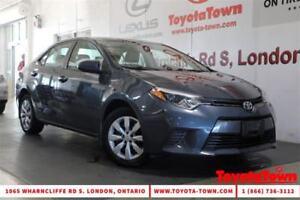 2015 Toyota Corolla SINGLE OWNER LE HEATED SEATS BACKUP CAMERA