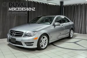 2014 Mercedes-Benz C-Class C300 4MATIC + TOIT PANORAMIQUE RARE