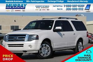 2014 Ford Expedition Max Limited *HAIL DAMAGE($6000)*PRICE DROP  Moose Jaw Regina Area image 1