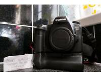 Canon 6D DSLR with official Canon Battery Grip