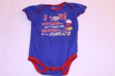 Infant/Baby Girls Kansas Jayhawks