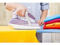 Laundry services. Ironing, washing, drying clothes