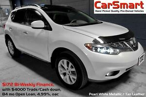 2014 Nissan Murano SL | Leather |Pana-Roof | Reverse Cam & Bluet