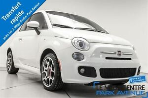 2012 Fiat 500 Sport, A/C, BLUETTOOTH