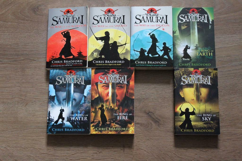Young Samurai Books x 7   in Mirfield, West Yorkshire   Gumtree
