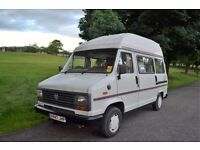 FOR SALE TALBOT EXPRESS CAMPER VAN 2 BERTH WITH 1 YEAR MOT FRIDGE COOKER READY FOR HOLIDAYS BARGAIN
