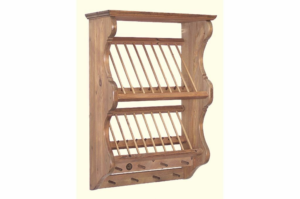Old penny pine plate rack  sc 1 st  Gumtree & Old penny pine plate rack   in Chatham Kent   Gumtree