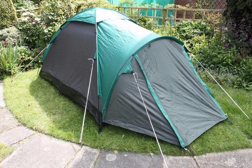 Pro Action 2 Man single skin Dome Tent put up once as new & Pro Action 2 Man single skin Dome Tent put up once as new | in ...