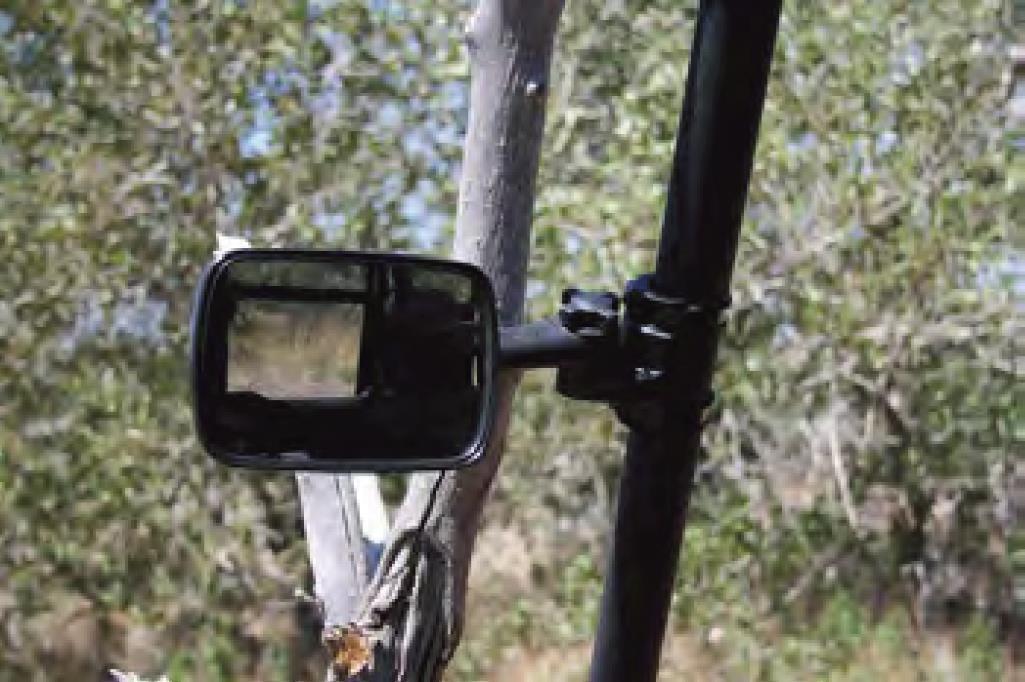 Clearview™ UTV Side Mirror Anti Vibration Break Away Utility Sport