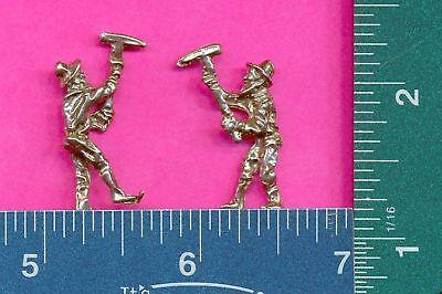 100 wholesale lead free pewter miner figurines m11016