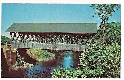 KENISTON BRIDGE over BLACKWATER RIVER, N.H. Andover Postcard New Hampshire