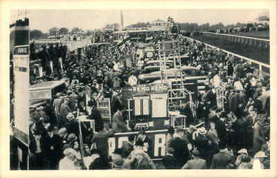 POSTCARD SOCIAL HISTORY YESTERDAYS BRITAIN DERBY DAY 1939