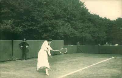 POSTCARD SOCIAL HISTORY YESTERDAYS BRITAIN WIMBLEDON FINAL JULY 1914