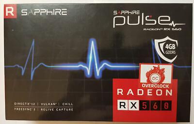 SAPPHIRE, AMD Radeon RX 560, GDDR5 4 GB, 11267-00-20G