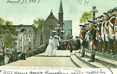 Albany,NY. The 1907 Cornation of the Queen, Halloween Carnival](Ny Halloween)