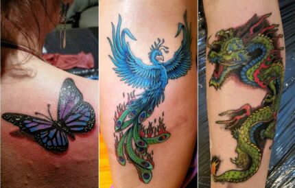 Quality tattoos at heavily reduced price of $50 a hour. Frankston South Frankston Area Preview
