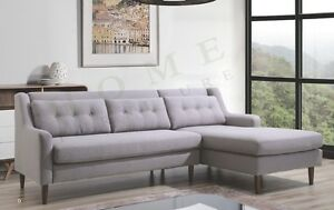 Brand New Corner L Shaped Sofa Couch in Linen Fabric Adelaide CBD Adelaide City Preview