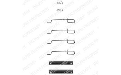 DELPHI Accessory Kit- disc brake pads For PEUGEOT 205 CITROEN SAXO LX0044