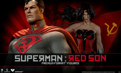 Sideshow Collectibles EX Superman Red Son Premium Format Figure SOLD AS IS