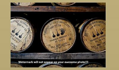 Bourbon Whiskey Barrels PHOTO Art Print Woodford Reserve Kentucky Distillery